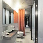 别墅简约卫生间设计