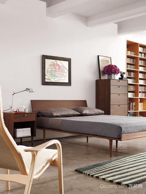 适合男性青年的小户型单身公寓装修效果图