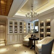 别墅奢华酒柜