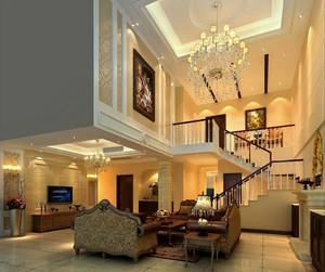 客厅楼梯展示