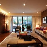 温暖客厅装饰