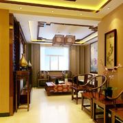中式风格客厅玄关