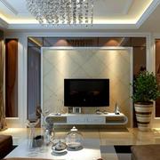 电视瓷砖墙设计