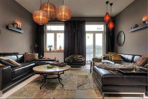 复古的公寓灯饰装饰设计