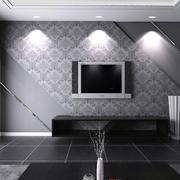 黑色电视柜