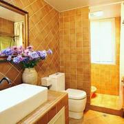 房屋卫生间洗手台图