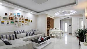 专为个人设计充满情调精美客厅照片背景墙装修设计效果图