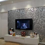 白色小型电视柜