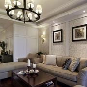 房屋舒适沙发展示