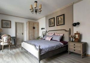 简约素朴卧室装修图