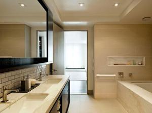 现代洗手间设计