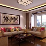 中式客厅展示