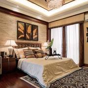 优美的卧室床头装饰画