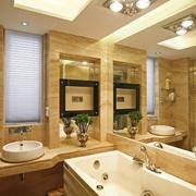 室内洗手间镜子设计
