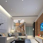 沙发白色装饰画背景墙