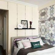 公寓卧室壁纸设计
