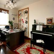 120平米中式风格书房
