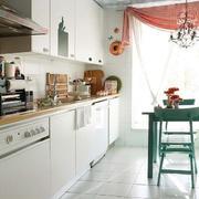 三室一厅实用家居厨房效果图