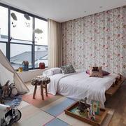 田园风格公寓卧室