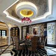 大户型奢华餐厅装饰