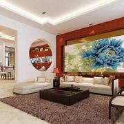 中式风格沙发装饰