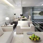 公寓黑白客餐厅装饰