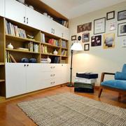 公寓书房书柜展示