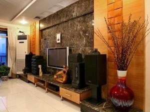 120平米新古典三居室室内装修设计效果图