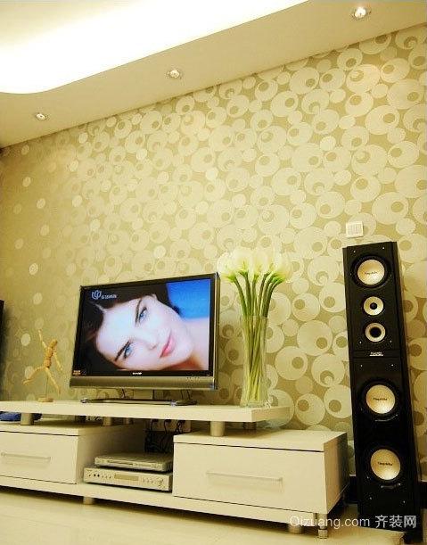 90平米两居室简约精致浪漫的房屋装修设计效果图大全