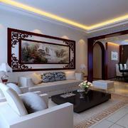中式风格沙发背景