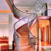 大型别墅家居楼梯