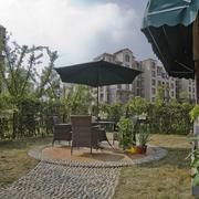高级住宅区花园设计