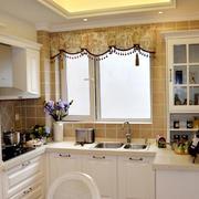 简欧风格的小厨房
