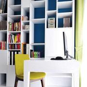 公寓书房书架图片