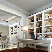 大型书房书柜