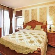 房屋美式卧室图