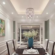 别墅清新餐厅设计