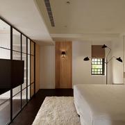 别墅白色卧室装饰
