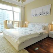 现代温馨卧室图