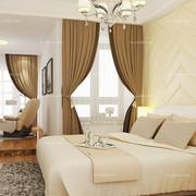 卧室现代窗帘设计