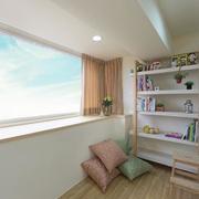 小户型书房窗户图
