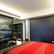 卧室酷炫电视背景墙设计