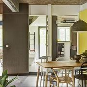 小户型公寓简约餐厅餐桌椅