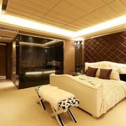 别墅温馨卧室展示