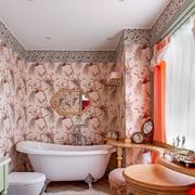 复式楼卫生间瓷砖设计