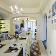 地中海房屋餐厅设计