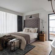 公寓卧室窗帘展示