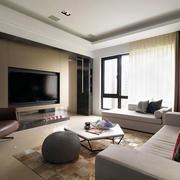 小户型客厅电视背景墙展示