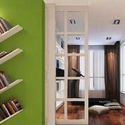 个性书房书架展示