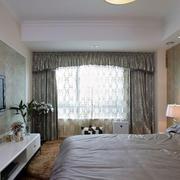 卧室飘窗窗帘
